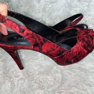‼️Sweet Stylish Floral Heels